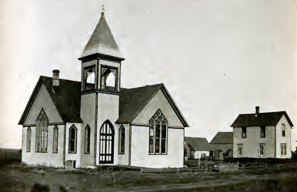 The Methodist Church was the first church built in Lake Park.