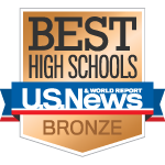 Harris-Lake Park High School is recognized in the National Rankings and earned a bronze medal. Schools are ranked based on their performance on state-required tests and how well they prepare students for college.